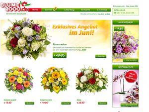 Blume 2000 - Onlineshop Vorschau